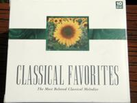 10 CD Classical music collection. More than 10 hours of