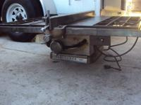 Brand Craftsman Type Table Saw Used in working