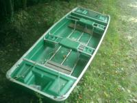 Nice easy to cart around fishing boat.    This will
