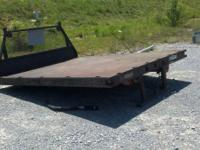 FLAT BED FOR 1 TON TRUCK MADE BY MIDWEST .CALL JA @  OR