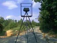 We have 22 brand new - 10 foot Tripod Hunting Stands