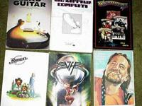 A collection of 17 GUITAR books. Buyer choice $10.00
