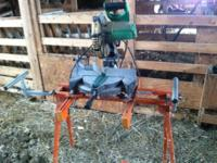 10? Hitachi Compound Miter Saw, my father gave me a 12?