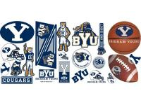 Get your team spirit on with this set of collegiate