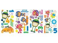 Join team Umizoomi! These fun wall decals of Milli,