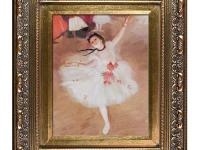 Hand-Painted oil reproduction of a famous Degas