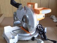 "10 inch Compound Miter and Bevel Saw !0"" Blade with"