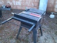 selling a 10 inch table saw works great make reasonable