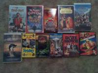 im selling 10 kids vhs movies and 2 dvds. asking best
