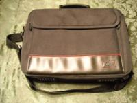 Nice Targus laptop bag. Has multiple compartments and