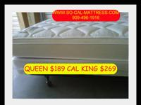 WE ARE CALIFORNIA MATTRESS BROKERS. . . AND NOW WE ARE
