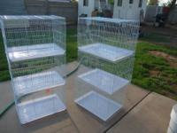Finch and round cage- $14.99 Fancy Parakeet- $12.99