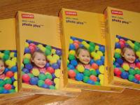 "Staples Photo Plus Gloss Paper 4""x6"".  I have 10 brand"