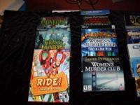 For Sale: 10 PC games, all games are for XP/Vista, most