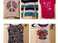 Girl's Clothing Lot -  Size: 7/8  Brands:  Justice &