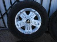 I have a set of 4 10-ply 275/65/18 Goodyear Wrangler