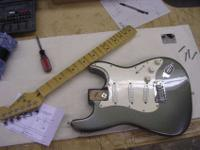 Professional guitar setups, repairs, modifications and
