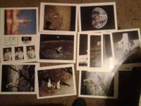 For sale is a12 Apollo eleven moon landing prints from