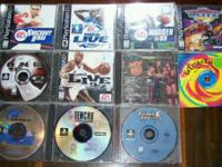 We have 10 + Sampler PlayStation Games. They are: