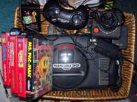 We have a Sega Genesis 16-bit gaming system we no