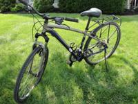 This is a Hybrid bicycle I purchased in 2010. IT has
