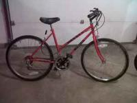 Good condition, shifters and brakes work well. Call