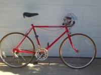 Great 10 speed road bike... selling cause I don't ride
