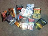 i have 10 hard back stephen king books for sale. DARK