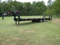 I have a nice Anderson goose neck flat bed trailer. It