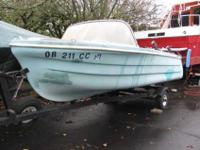 "13'-6"" Boat. $100. All four seats swivel 360 deg. Do"