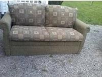 For Sale are two RV sofas. One is a jack knife bed and