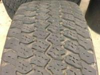 Set of four goodyear wrangler ats tires pre-owned in