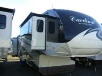 2013 FOREST RIVER CARDINAL 38' , CREME/STEEL, Dry Hitch