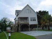 Beach house rental located in Garden City. House is