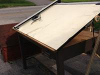 I have a fully adjustable drafting table for sale. It