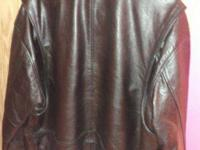 I have a beautiful heavy Black Leather Biker Jacket for