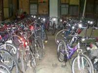 SALE !!! OVER 100 BIKES FOR SALE. PARTS AND