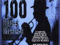 100 BLUES MASTERS VOLUME 1-2-3-4 Featuring 100 songs!!