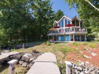 Meredith NH - Stunning post and beam Lake Winnipesaukee