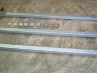 Cargo Van Ladder Rack with Aluminum Cross Supports,