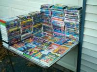 Hi there, I'm offering my 100+ Disney VHS Movies