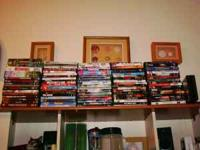 91 dvd's...great deal...all in excellent condition.11