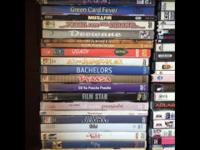 Box of 100 DVDs. Hindi Bollywood Indian Films. There