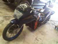For sale is a 100% ELECTRIC powered drag bike Includes