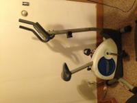 Exercise bike for sale. Like new and hardly used. I