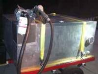 new fuel trailer aluminum with transfer pump, self