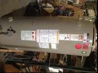 PO Smith 100 gallon gas Commercial water heating unit.