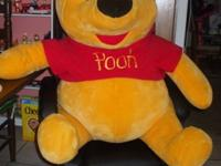 For sale is a VERY RARE giant plush Winnie-the-Pooh. He