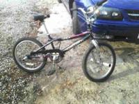 I have a GT Vertigo Freestyle BMX Performer Bicycle