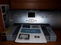 I am selling my hp photosmart 7960 printer with extra